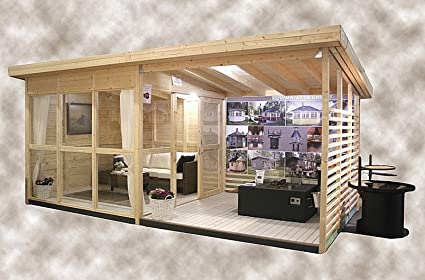 Merveilleux Allwood Solvalla | 172 SQF Studio Cabin Kit, Garden House