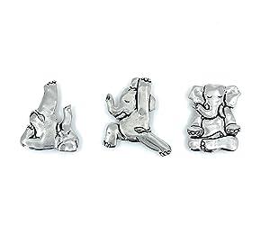 Elephant Yoga Poses Magnet
