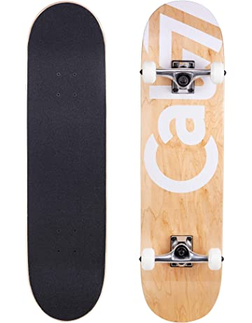 Cal 7 Complete Skateboard, Popsicle Double Kicktail Maple Deck, Skate Styles in Graphic Designs