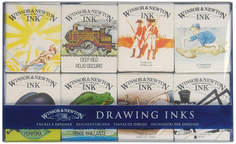 Winsor & Newton - Inchiostro da disegno, barattolo da 14ml, colore: viola Violet Violet Colart 1005688