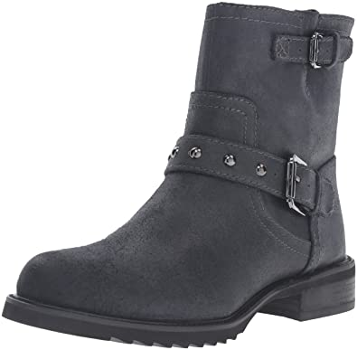 Nine West Women's Willa Leather Boot Black Size 7.0