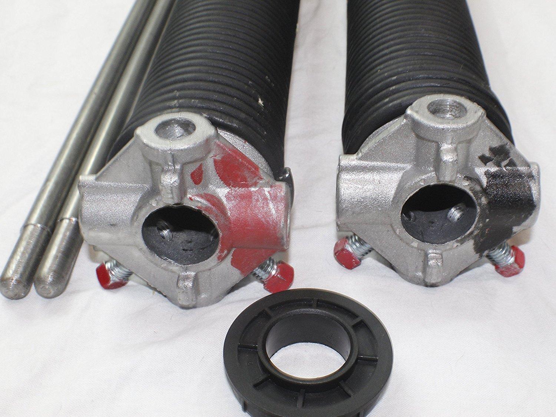 Pair of 250 X 2 X 28-40 Garage Door Torsion Springs with Winding Bars 33.25