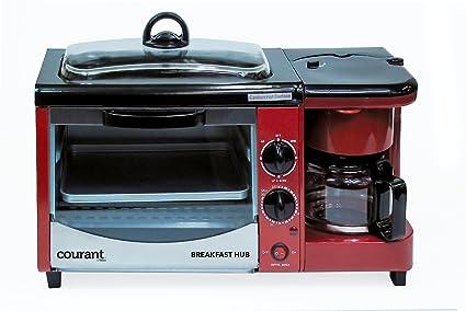 Amazon.com: Courant CBH-4601R 3-in-1 Multifunction Breakfast Hub (4 ...