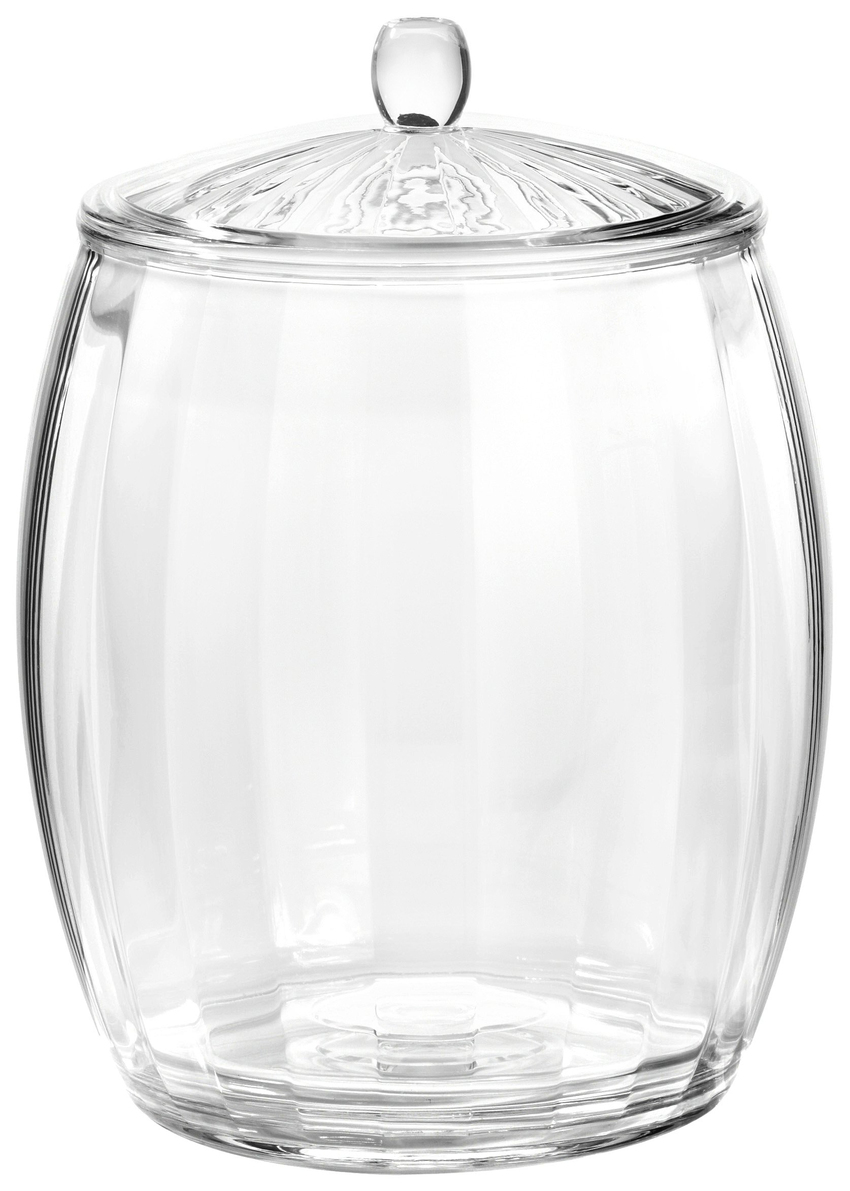 Prodyne AP-98 Contours 3-1/2-Quart Ice Bucket, Clear