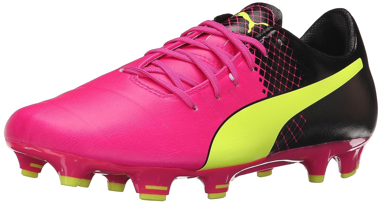 [プーマ] PUMA サッカースパイク エヴォパワー 1 H2H FG B015NWALLC 9.5 D(M) US|Pink Glow/Safety Yellow Pink Glow/Safety Yellow 9.5 D(M) US