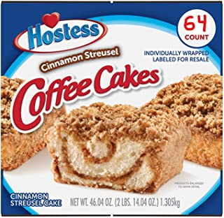 product image for 2 Pk. Hostess Cinnamon Streusel Coffee Cake (1.44oz / 32pk) Shipped & Sold by: Edible Deliveries