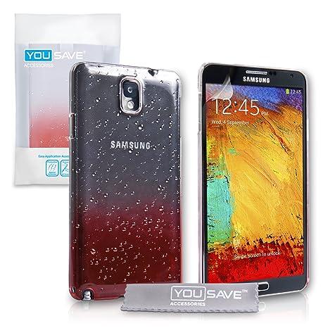 Yousave Accessories® Carcasa rígida para Samsung Galaxy Note ...