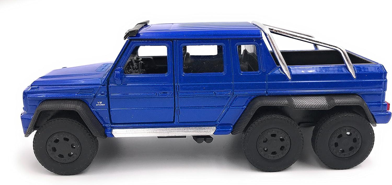 34-1 39 Bleu Welly Mercedes Benz G63 6x6 AMG Mod/èle de Licence de Voiture Produit 1
