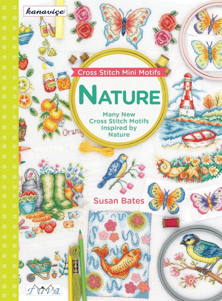 Read Online Cross Stitch Mini Motifs: Nature: Many New Cross Stitch Motifs Inspired by Nature PDF