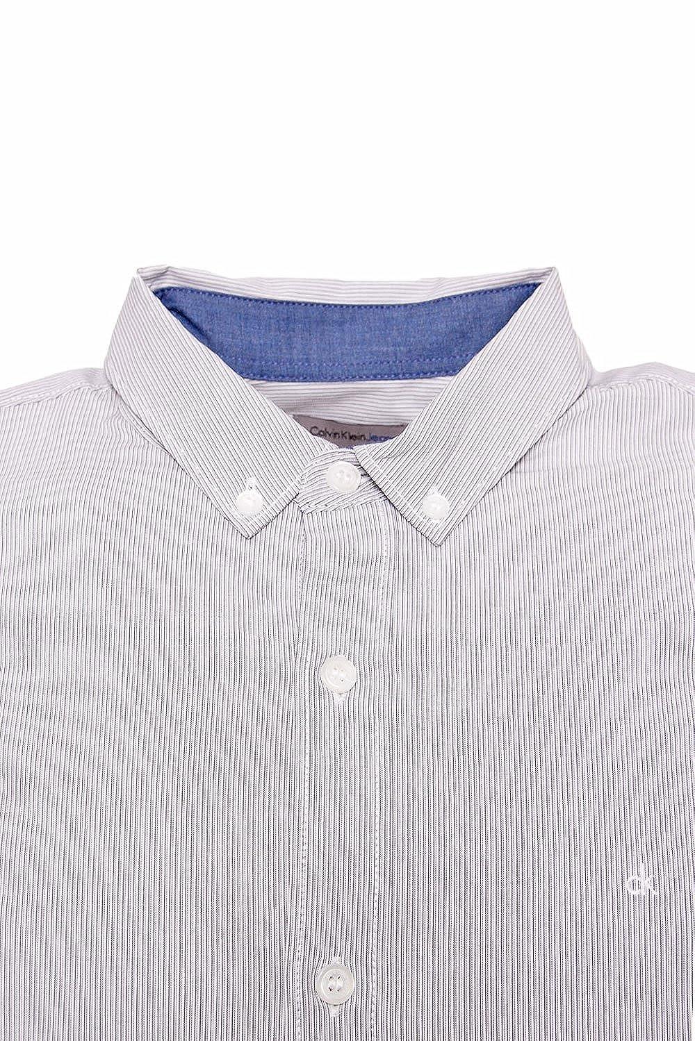 00421274c2 CALVIN KLEIN JEANS - Men's slim fit long sleeve shirt wilshner fine ...