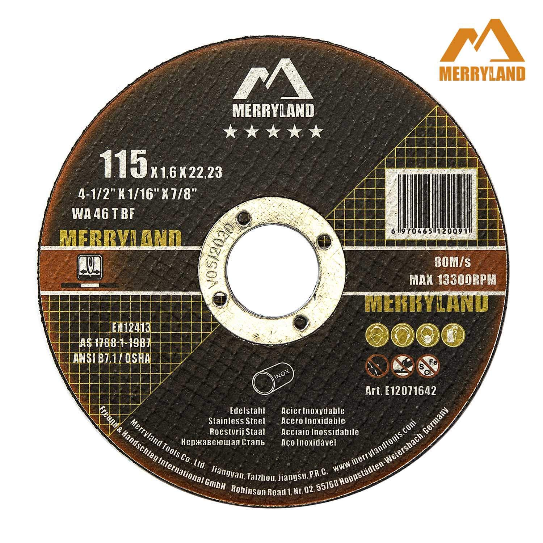 Merryland 4-1/2 X 0.065 Expert-line Cut Off Wheel INOX Stainless Steel Metal Iron 25PCS