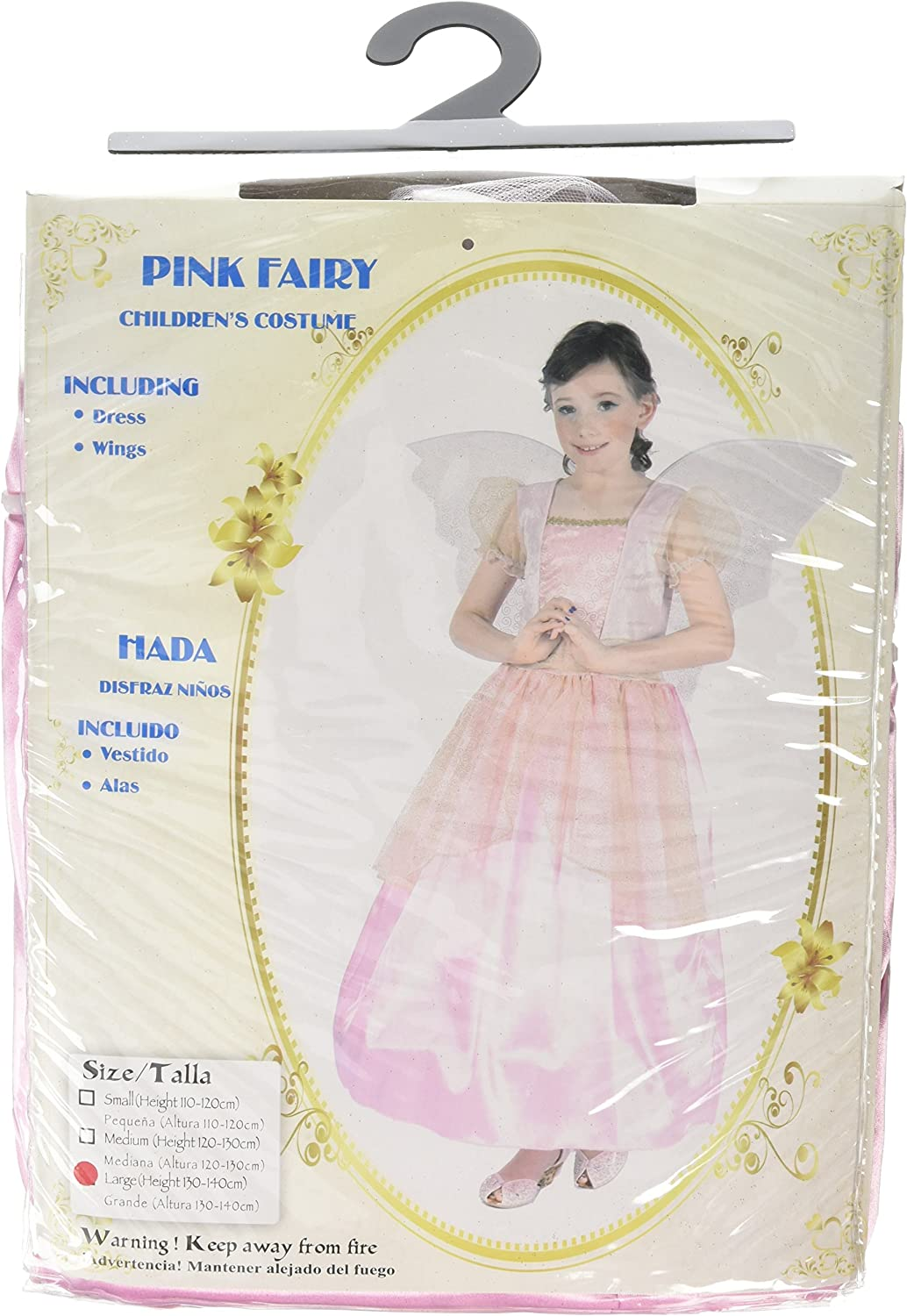 Humatt Perkins Fairy Large, Pink