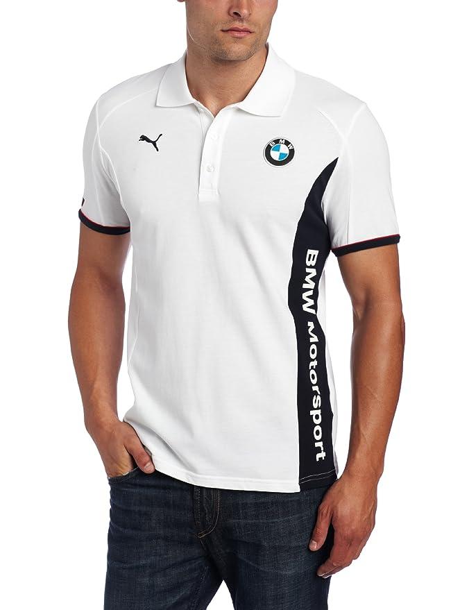 e6b73493 PUMA Men's BMW Lifestyle Polo at Amazon Men's Clothing store: Athletic  Shirts