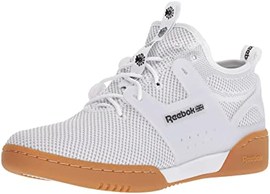 4f7e029415ed00 Reebok Men s Workout Advance Ultraknit Cross Trainer Orange-White Black Gum  6.5 M