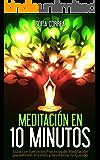 MEDITACIÓN EN 10 MINUTOS - Guía con Ejercicios Prácticos para Aliviar el Estrés y Revitalizar tu Cuerpo: Elimina la Ansiedad, Depresión y Alcanza la Máxima Relajación (Meditación para Principiantes)