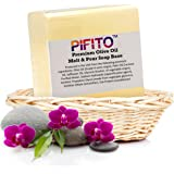 Pifito Premium Olive Oil Melt and Pour Soap Base (2 lb) - Natural Vegetable Glycerin Soap Base - Excellent Hand Soap Base Making Supplies