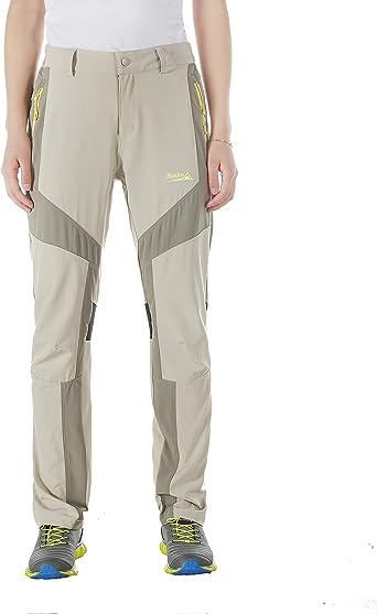 BALEAF Womens Quick Dry Hiking Pants UPF 50 Workout Lightweight Sportswear with Zipper Pockets