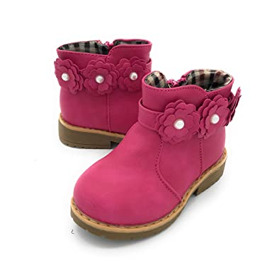 6abf1e2f83084 Blue Berry EASY21 Girls Fashion Cute Toddler Infant Winter Snow Boots  01FUCHSIA