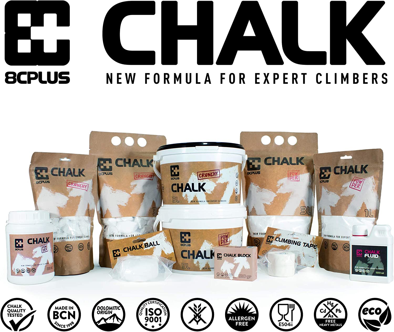 8cplus EBS650 Chalk Crunchy 5L (650g)