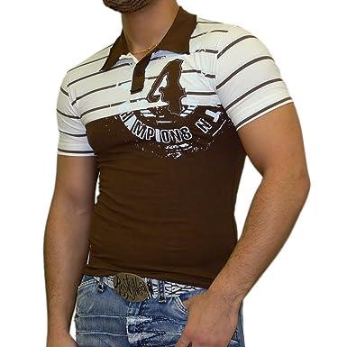 Rusty Neal Slim Fit Polo Style - Camiseta para hombre Polo Manga ...