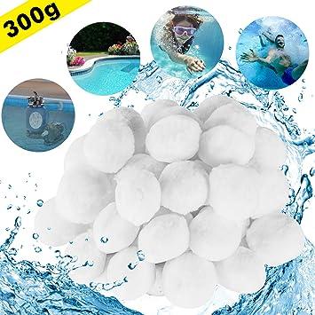 Aitsite 1.5 lbs Pool Filter Balls Eco-Friendly Fiber Filter Media for Swimming P