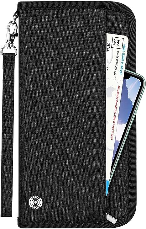 Just A Beautiful Encounter Multi-purpose Travel Passport Set With Storage Bag Leather Passport Holder Passport Holder With Passport Holder Travel Wallet