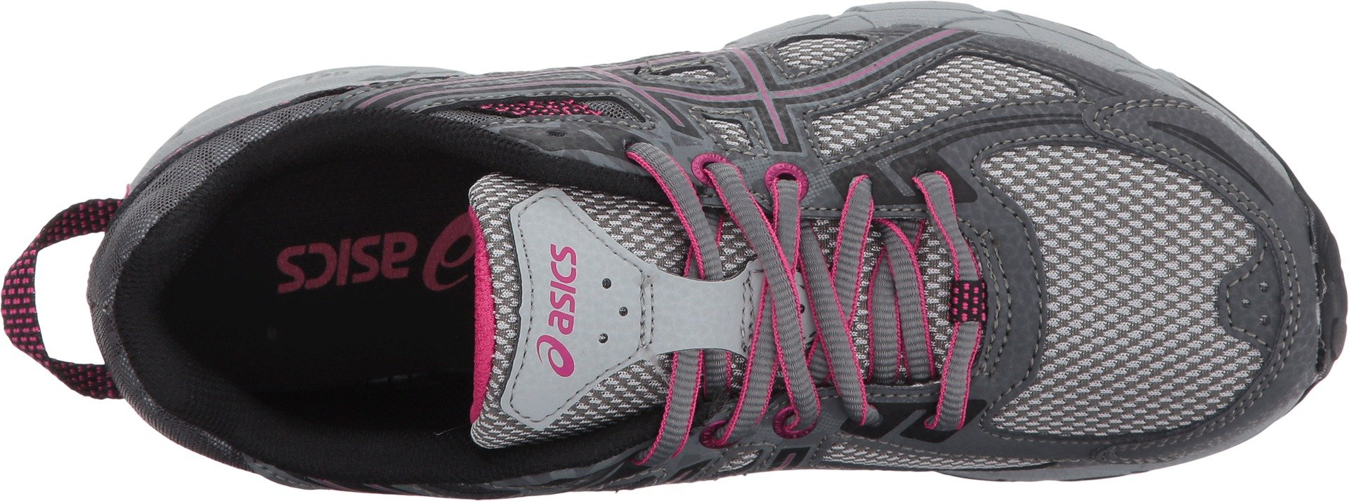 ASICS Women's Gel-Venture 6 Running-Shoes,Carbon/Black/Pink Peacock,5 D US by ASICS (Image #2)