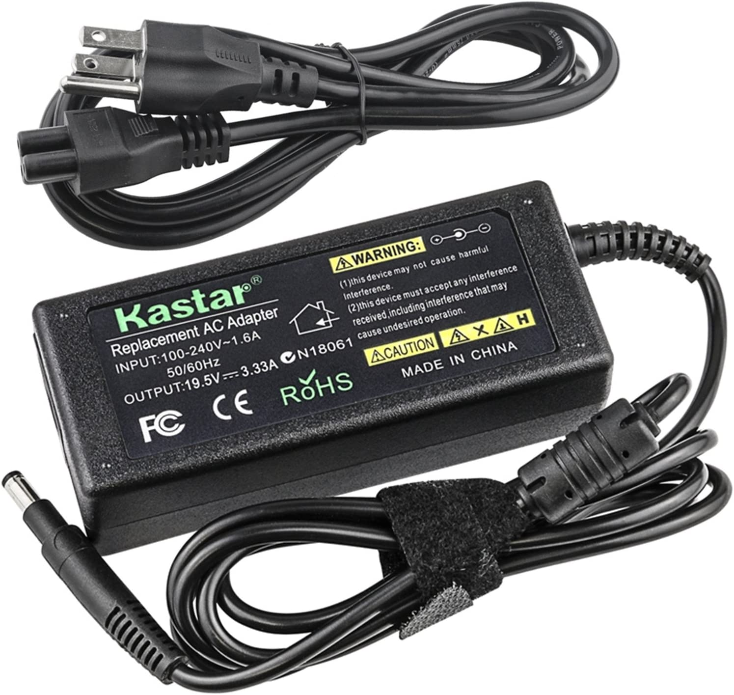 Kastar AC Adapter Power Supply Replacement for HP Pavilion TouchSmart Sleekbook 14-b109tx 14-b109wm 14-b150us 14-b157nr 15-b104xx 15-b119wm 15-b123cl 15-b129wm 15-b152nr 15-b156nr 15-b161nr