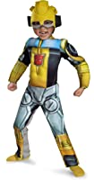 Disguise Bumblebee Rescue Bot Toddler Muscle Costume