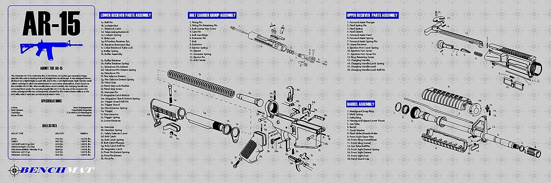 mat ar 15 schematics wiring diagram online AR-15 Lower Parts Diagram amazon com ar 15 gun cleaning mat 12x36 3mm break down by bench ar 15 armorer\u0027s tool kit mat ar 15 schematics