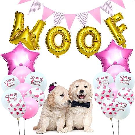 Decoraciones de Cumpleaños para Perros, Suministros de ...
