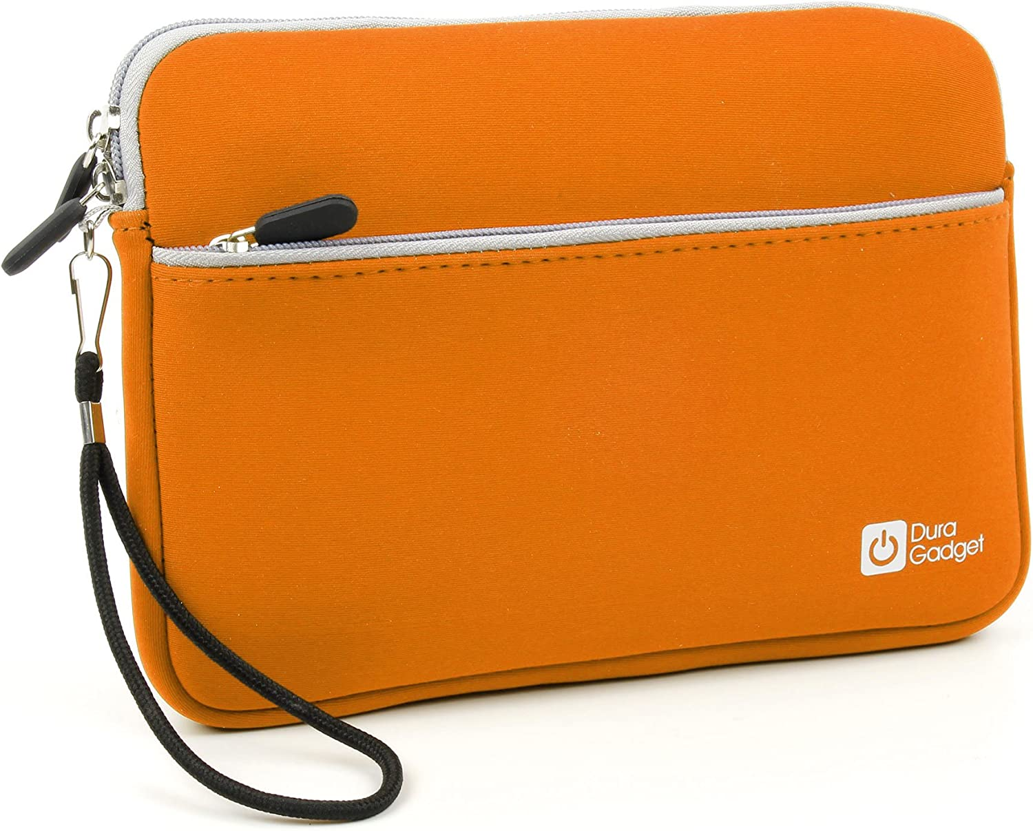 DURAGADGET Soft Orange Neoprene Cover - Compatible with Acer Iconia W3 | Iconia Tab A1-810 | Iconia Tab A210 | Iconia Tab A211 & Iconia Tab A200