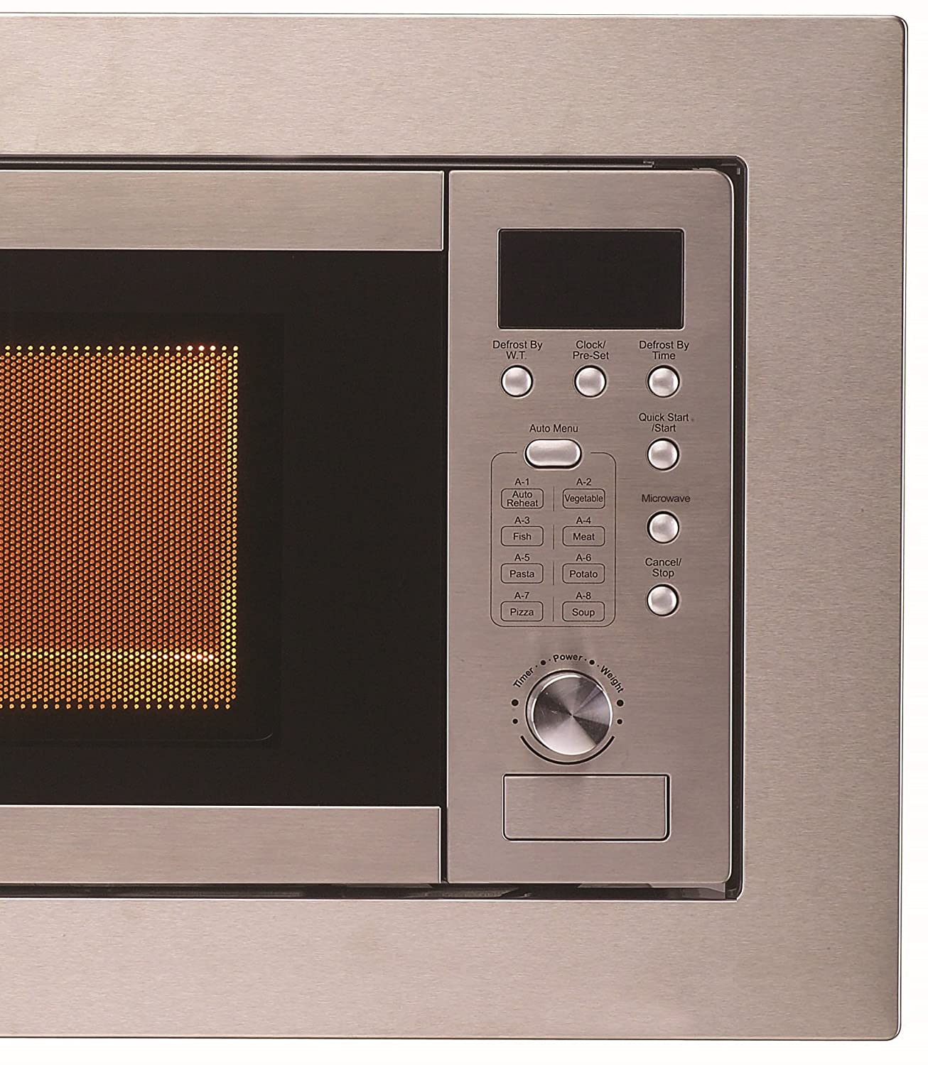 Cookology Integrated Microwave in Stainless Steel | Built-in IM20LSS 20  Litre
