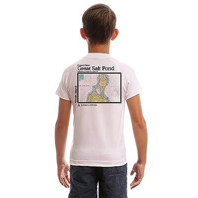 Altered Latitudes Coastal Classics Great Salt Pond Youth UPF 50+ UV/Sun Protection Rash Guard