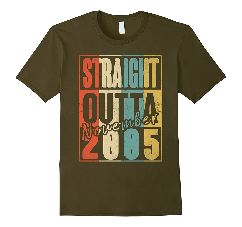 Straight Outta Retro USA November 2005 12th Birthday Gift 12-ANZ