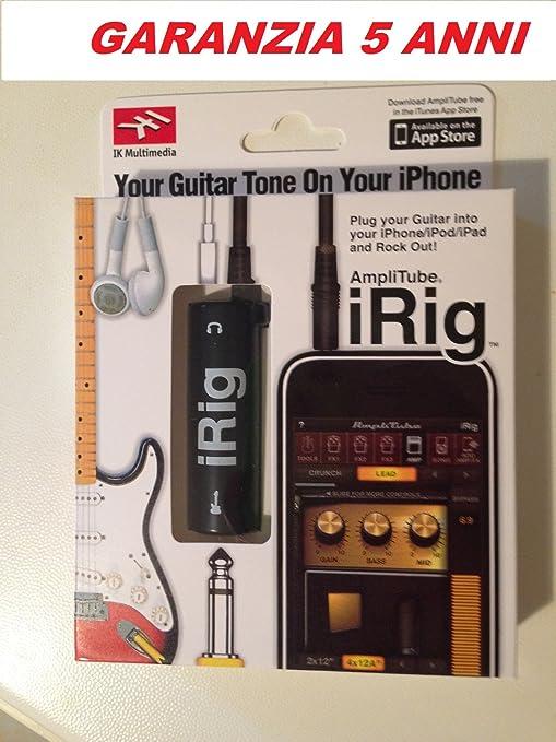 iRig AmpliTube amplificador para iPhone 4, 4S, 5, 5S 5 C, 6, 6 Plus ...