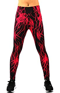 f21bd6fc3673c Neonysweets Womens Printed Yoga Pants Active Workout Leggings Stretch Tights