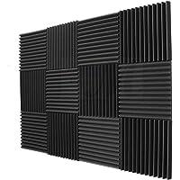 12 قطعة من ألواح الفوم استوديو صوتية