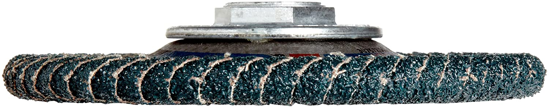 40 Grit Phenolic Resin Backing PFERD Polifan PSF Abrasive Flap Disc Radial Shape B003HIWL9U Zirconia Alumina Threaded Hole Pack of 1 5 Dia. 5 Dia