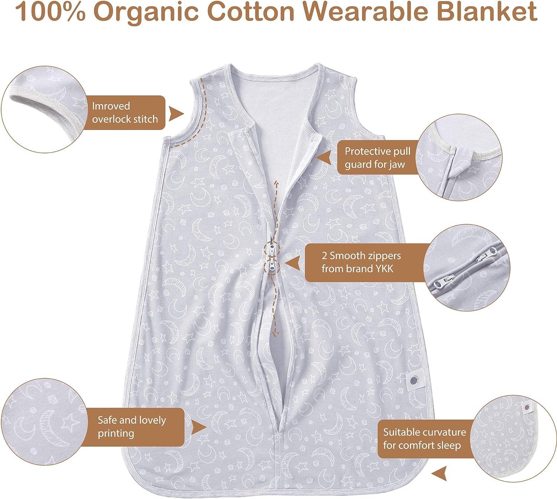 MioRico Baby Sleep Sack 0-24 Months Newborn Sleeping Bag 1 TOG Wearable Blanket: Clothing
