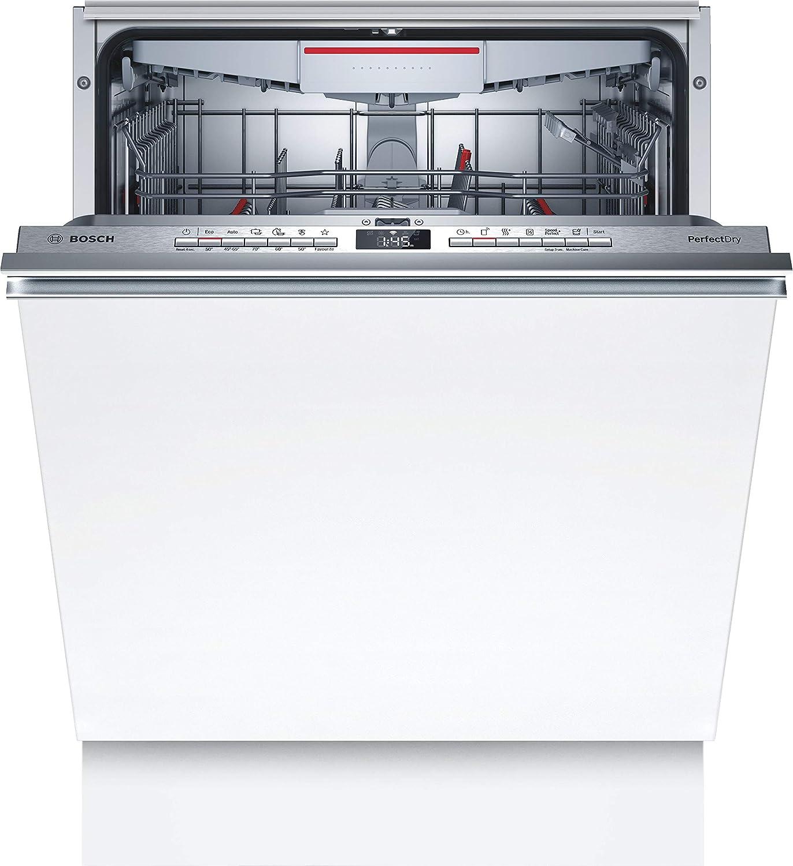 Bosch SMV6ZCX07E Serie 6 Lavavajillas totalmente integrado, A+++, 60 cm, 237 kWh/año, 14 MGD, SuperSilence/InfoLight/Variocajón/Home Connect