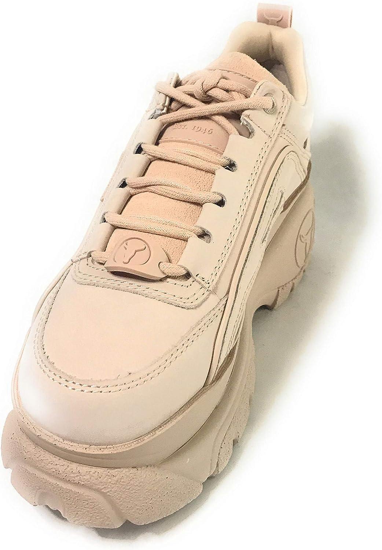 Chicago Boot Company Pty. Ltd. Lupe Nubuck, Scarpe da Ginnastica Donna Marshmallow Rose