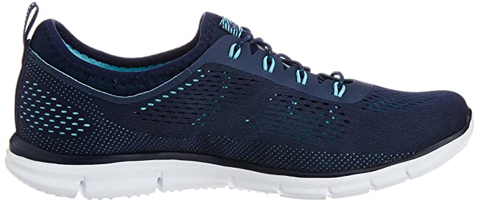 Chaussures Skechers Sneaker Stretch Fit Glider Harmony Bleu