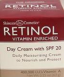 Retinol Day Cream With SPF 20, 2.25 Oz.
