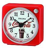 Seiko Coca-Cola Beep Alarm Clock - Red