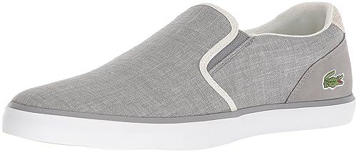 6a4dce9c Lacoste Mens Jouer Slip on Sneaker