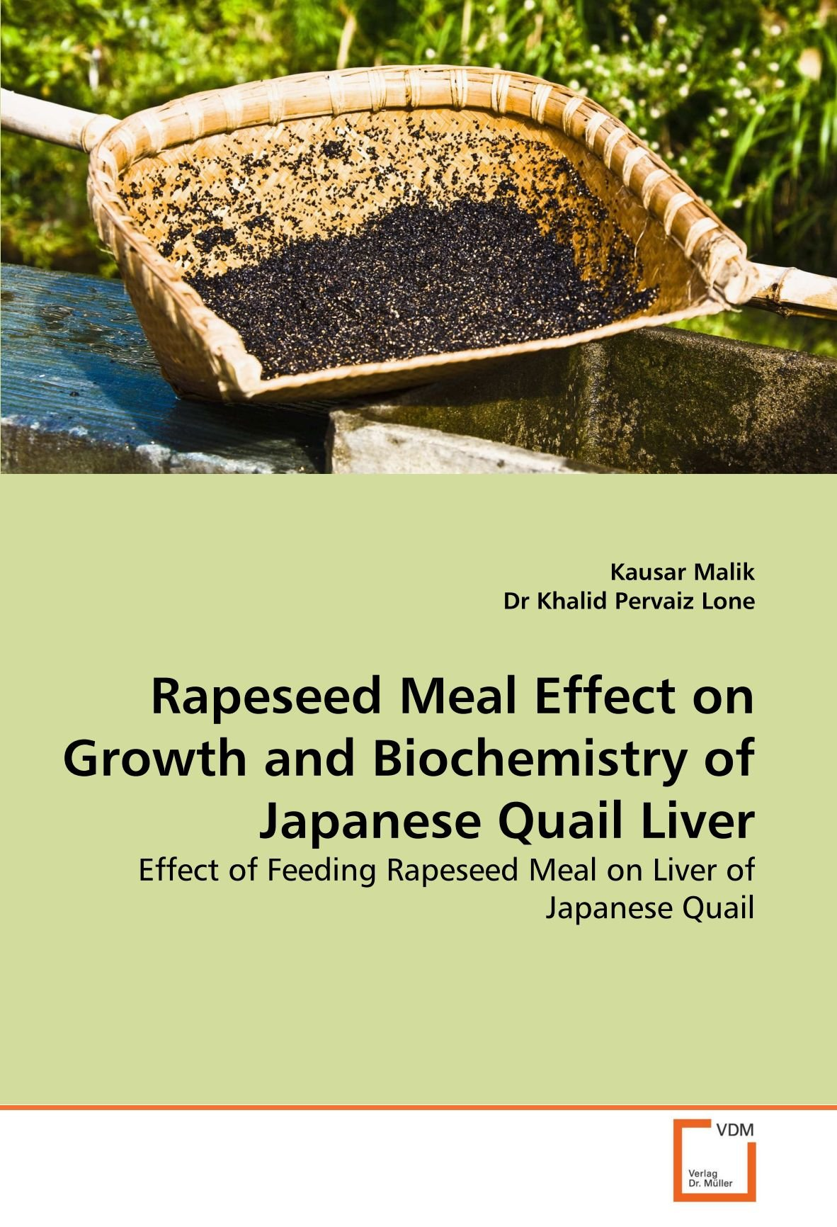 Rapeseed Meal Effect on Growth and Biochemistry of Japanese Quail Liver: Effect of Feeding Rapeseed Meal on Liver of Japanese Quail PDF