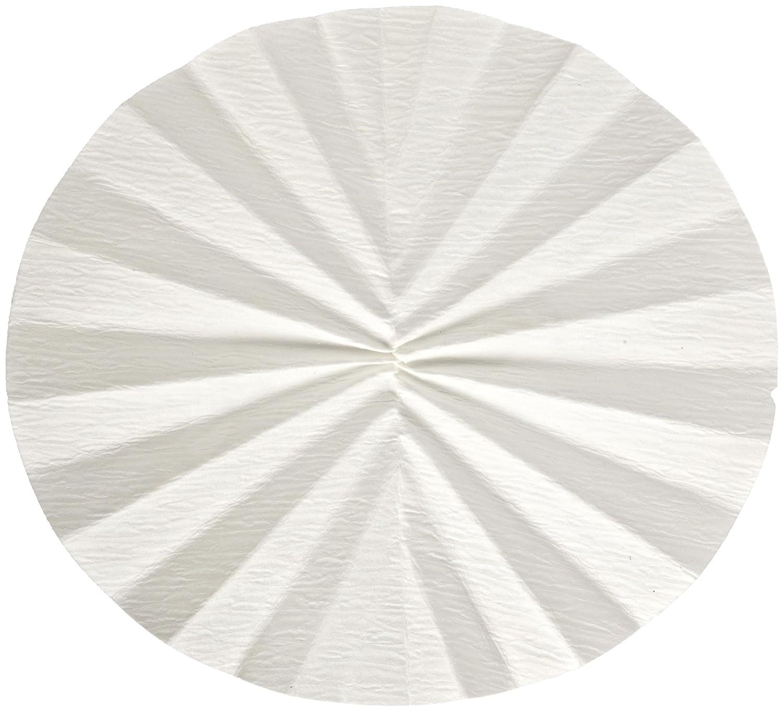 Whatman 1213-125 Quantitative Folded Filter Paper, 30 Micron, Grade 113V, 125mm Diameter (Pack of 100) GE Healthcare F1180-1