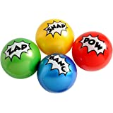 Super Hero Comic Book Design Inflatable Small Balls (12)