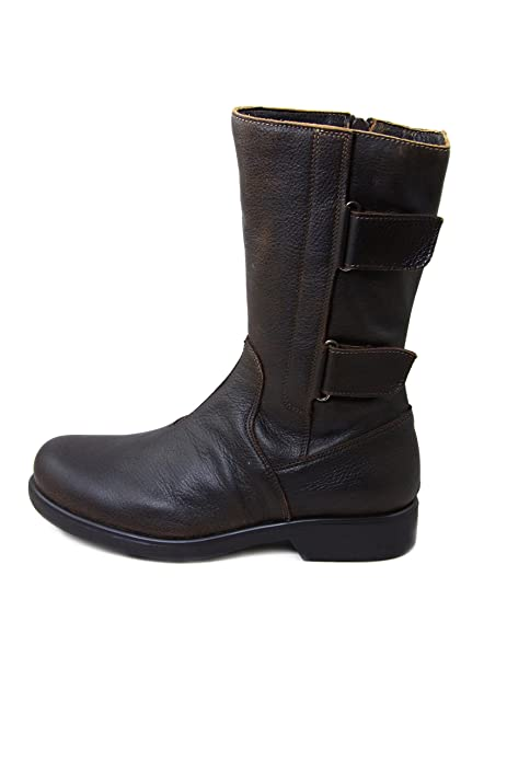 the best attitude 66cec 4c9d1 Beautiful Nose Leather Boots PINSK2582MJ Coffee, Coffee, EU ...